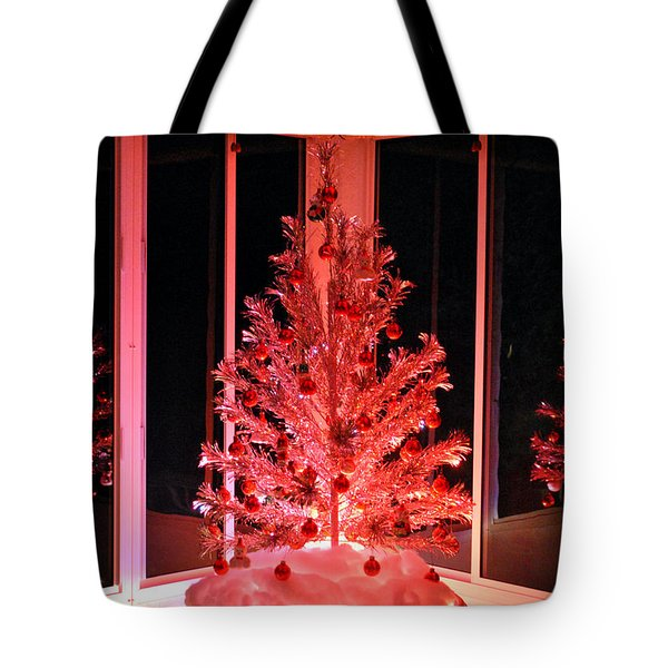Tote Bag featuring the photograph Retro Reflections by Kelly Nowak