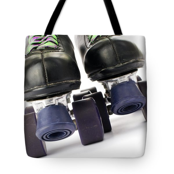 Retro Roller Skates Tote Bag by Jose Elias - Sofia Pereira