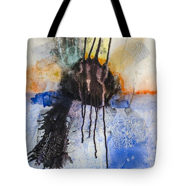 Tote Bag featuring the painting Retrovision by Ron Richard Baviello