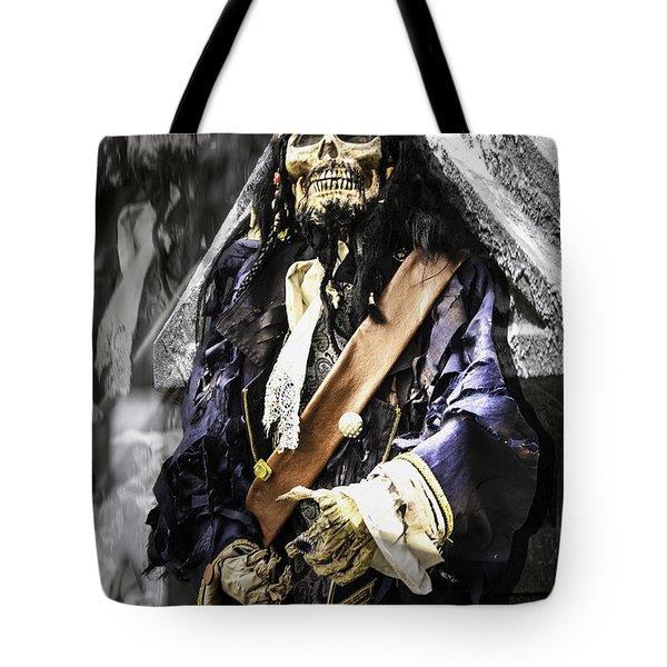 Return Of The Pirate Tote Bag by LeeAnn McLaneGoetz McLaneGoetzStudioLLCcom