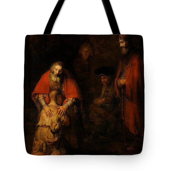 Return Of The Prodigal Son  Tote Bag