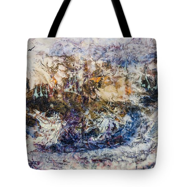 Tote Bag featuring the painting Return Of Ulysses by Ron Richard Baviello