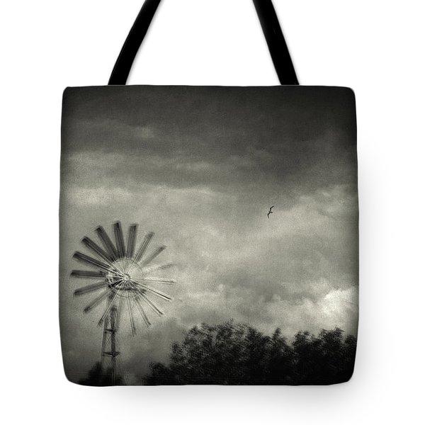 Return Tote Bag by Taylan Apukovska