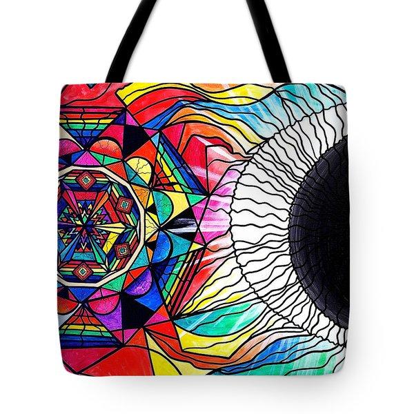 Return To Source Tote Bag by Teal Eye  Print Store