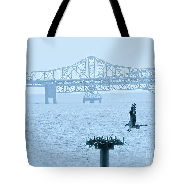 Returning Home  Tote Bag by Nancy Patterson