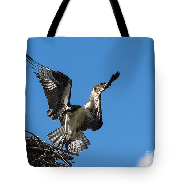 Returning To The Nest Tote Bag