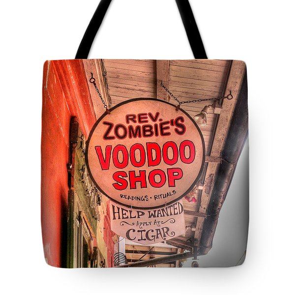 Rev. Zombie's Tote Bag by David Bearden