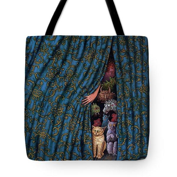Revealing Inner Demons Tote Bag by Holly Wood