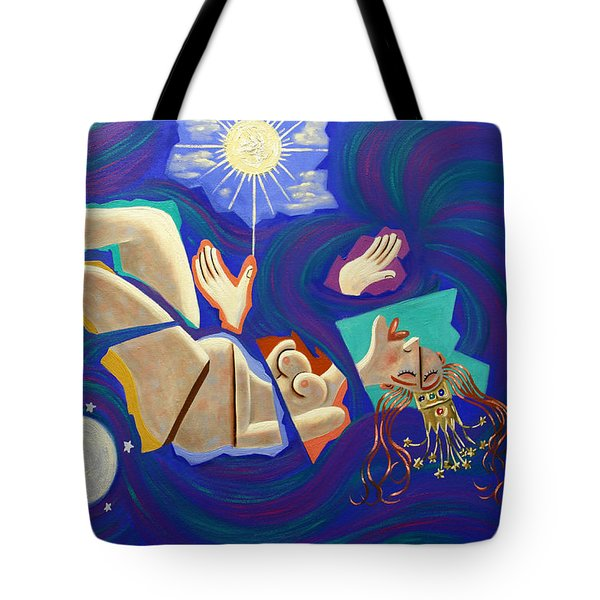 Revelation Chapter 12-1 Tote Bag by Anthony Falbo