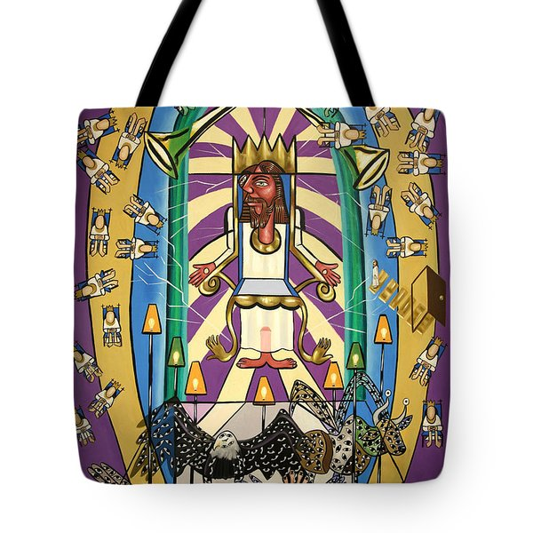 Revelation Chapter 4 Tote Bag by Anthony Falbo