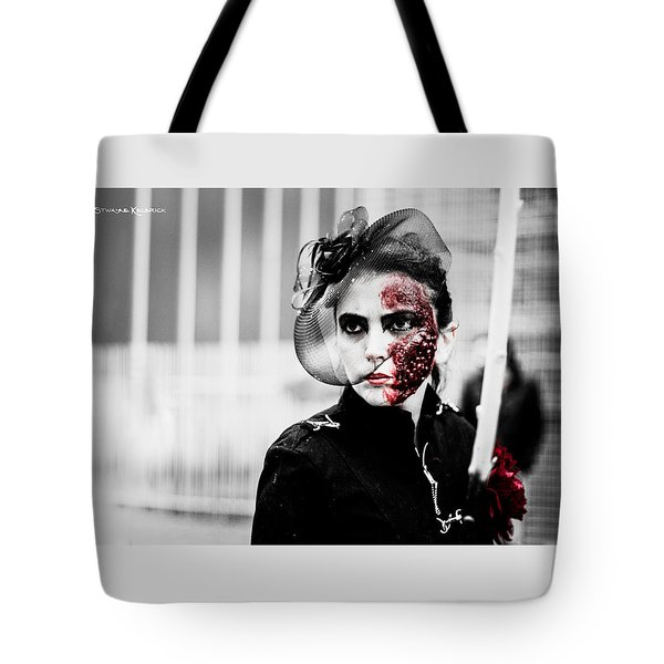 Revenge Of A Zombie Lady Tote Bag