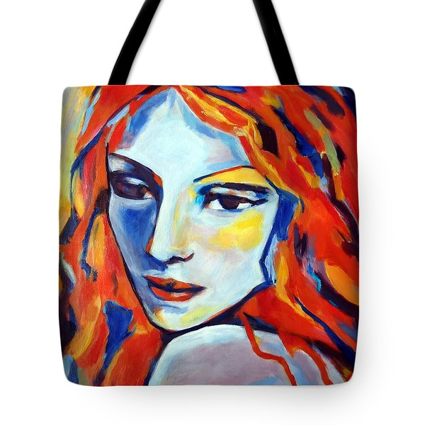 Tote Bag featuring the painting Reverie by Helena Wierzbicki