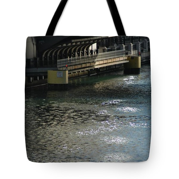 Reverse Flow Tote Bag by Joseph Yarbrough