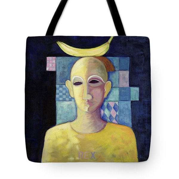 Rex, 2004 Acrylic On Canvas Tote Bag