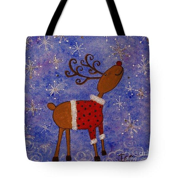 Rex The Reindeer Tote Bag