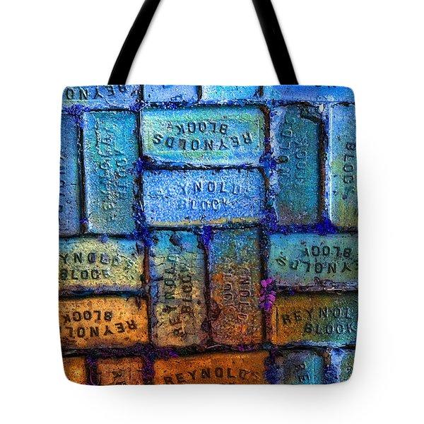 Reynolds Blocks - Vintage Art By Sharon Cummings Tote Bag by Sharon Cummings