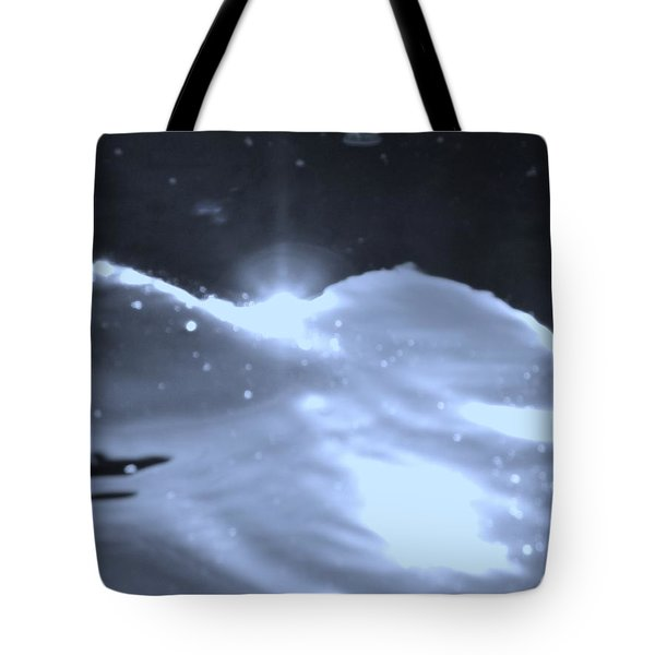 Tote Bag featuring the photograph  Moon Sunset by Deborah Moen