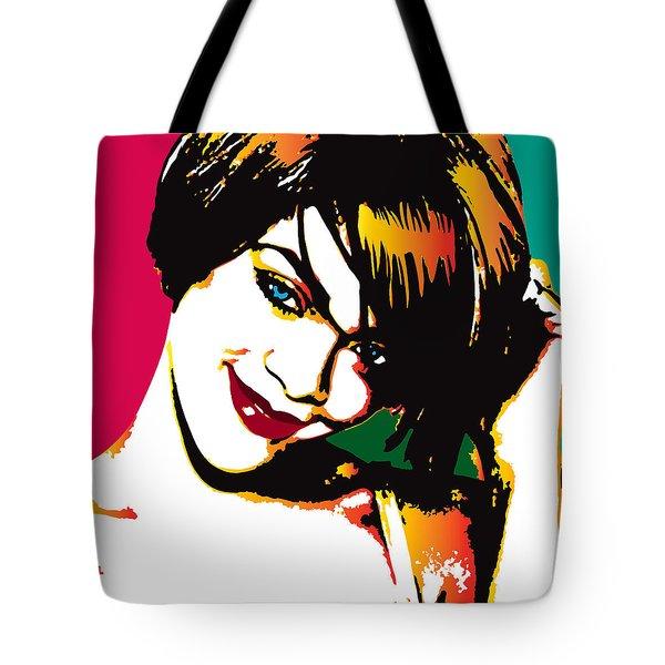 Rhiana  Tote Bag by Irina Effa