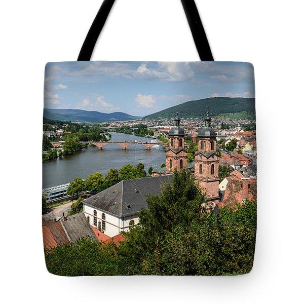 Rhine River Tote Bag