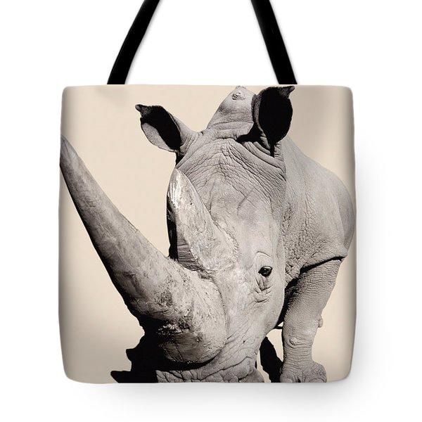 Rhinocerosafrica Tote Bag by Thomas Kitchin & Victoria Hurst