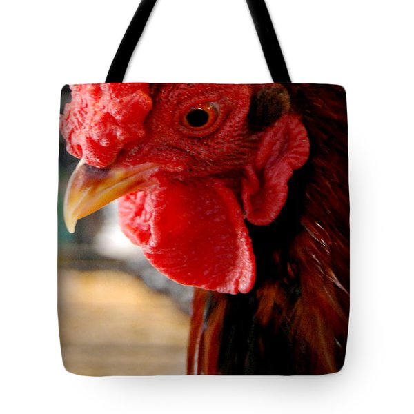 Rhode Island Red Tote Bag by Eunice Miller