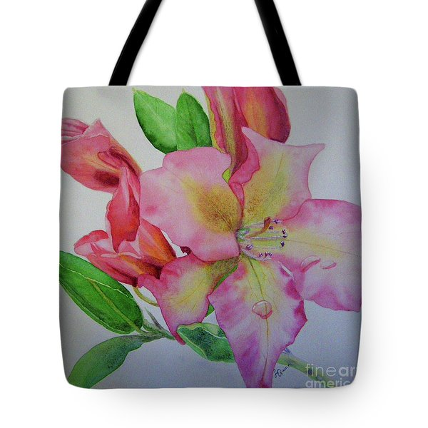 Rhodie With Dew I Tote Bag