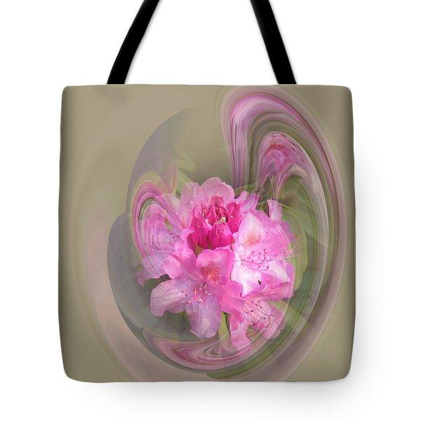 Rhododendron Awakening Tote Bag