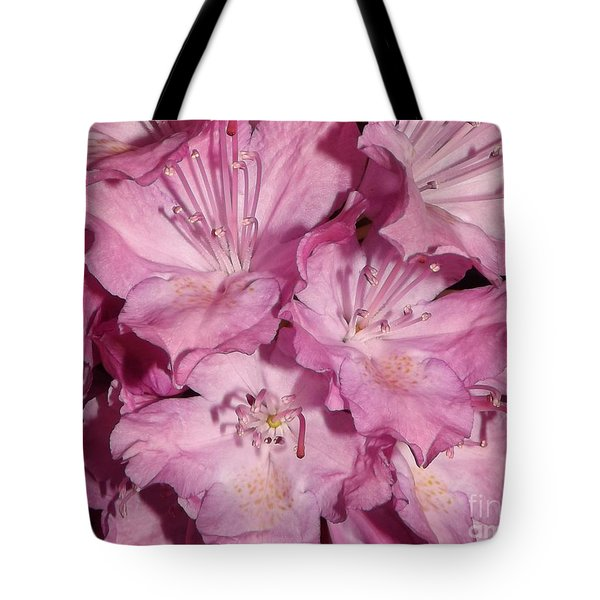 Rhododendron Bliss Tote Bag