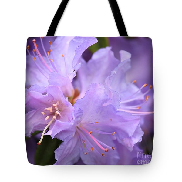 Rhododendron Flower Tote Bag