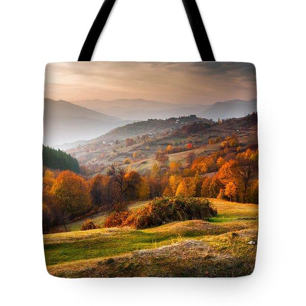 Rhodopean Landscape Tote Bag