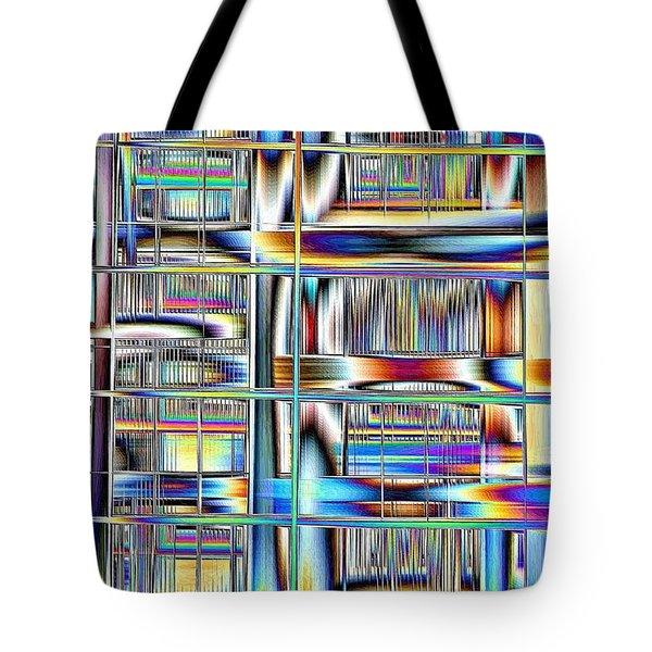 Rhyme And Reason Tote Bag by Nick David