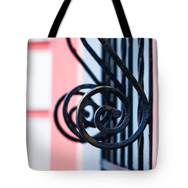 Rhythm Of Architecture Tote Bag by Alexander Senin