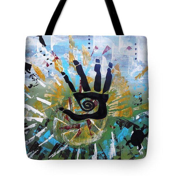 Rhythm Of Life Tote Bag