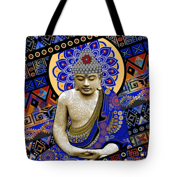 Tote Bag featuring the painting Rhythm Of My Mind by Christopher Beikmann