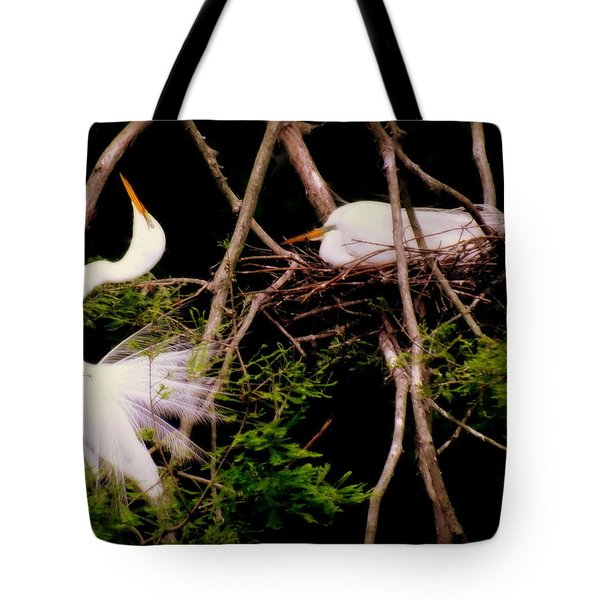 Rhythm Of Nature Tote Bag by Karen Wiles