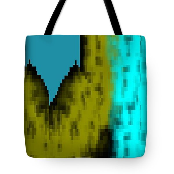 Tote Bag featuring the digital art Rhythm Of The City  by Cletis Stump