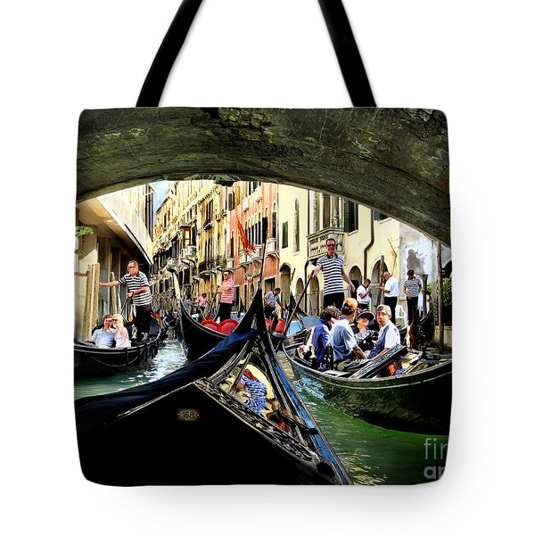 Rhythm Of Venice Tote Bag