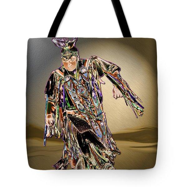 Ribbon Dancer Tote Bag by Kae Cheatham