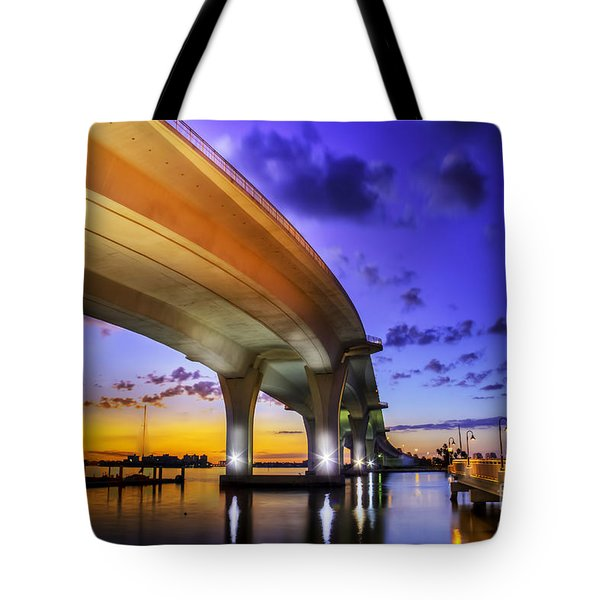 Ribbon In The Sky Tote Bag by Marvin Spates
