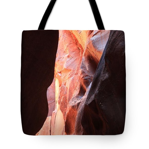 Ribbon Of Fire Tote Bag