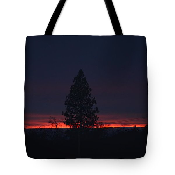 Ribbon Of Sunset Tote Bag