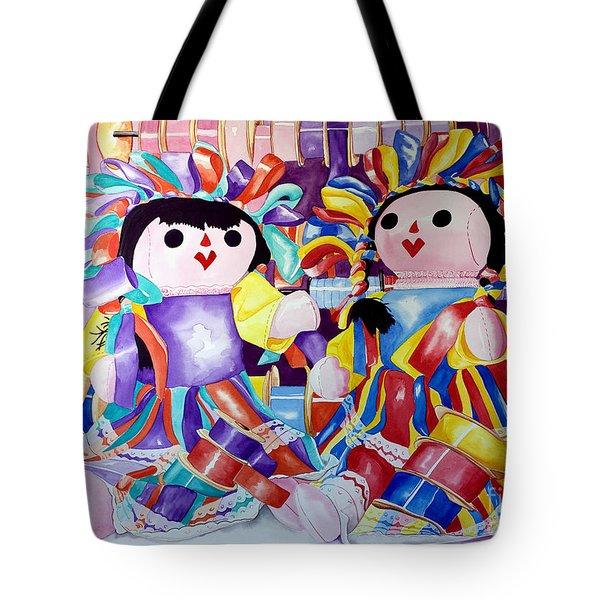 Ribbon Shoppin Tote Bag