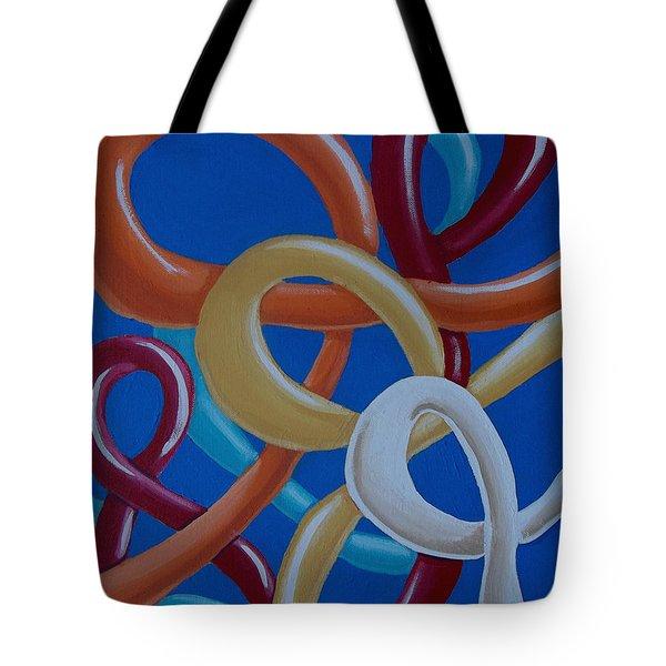 Ribbons In The Sky Tote Bag