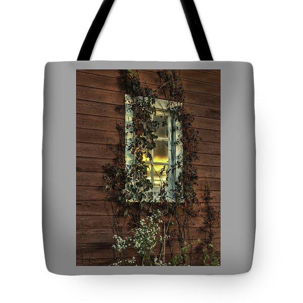Ribbons Of Vines And Inspiring Sunset Reflections Tote Bag
