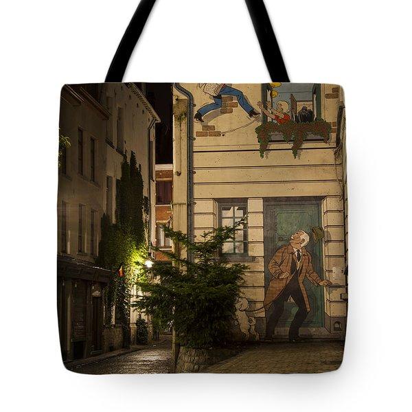 Ric Hochet Tote Bag by Juli Scalzi
