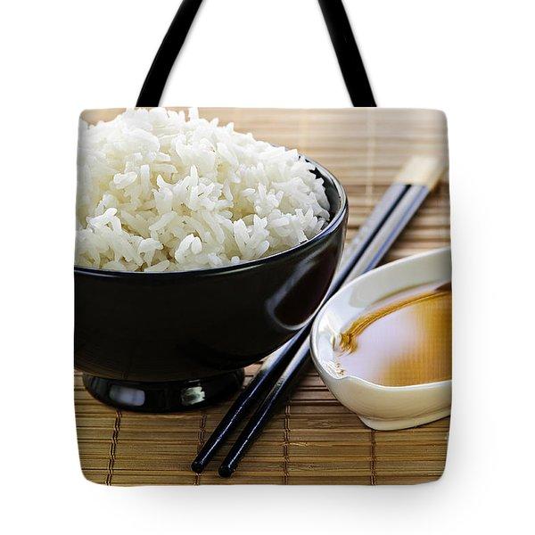 Rice Meal Tote Bag by Elena Elisseeva