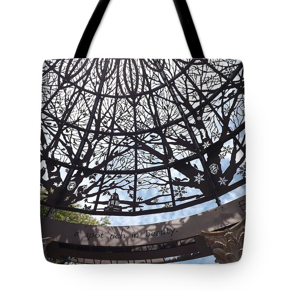 Rich In Beauty Tote Bag