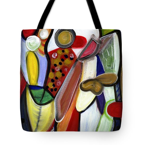Rich In Character Tote Bag by Stephen Lucas