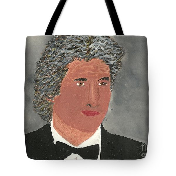 Richard Gere Tote Bag by Tracey Williams