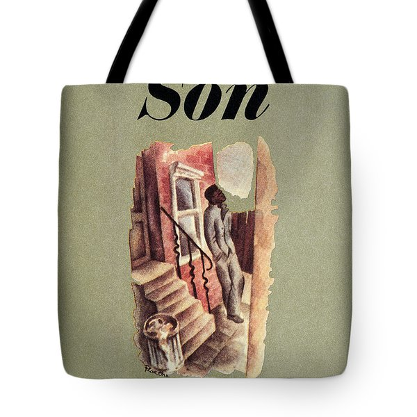 Richard Wright: Native Son Tote Bag by Granger